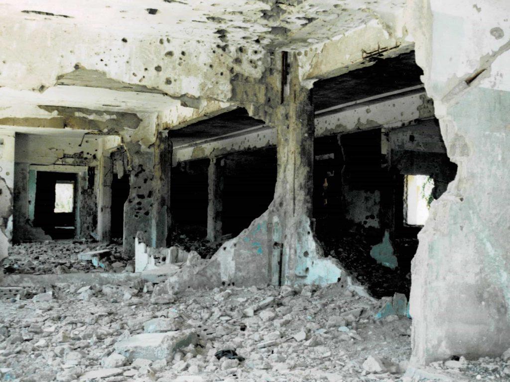 ゴラン高原病院内