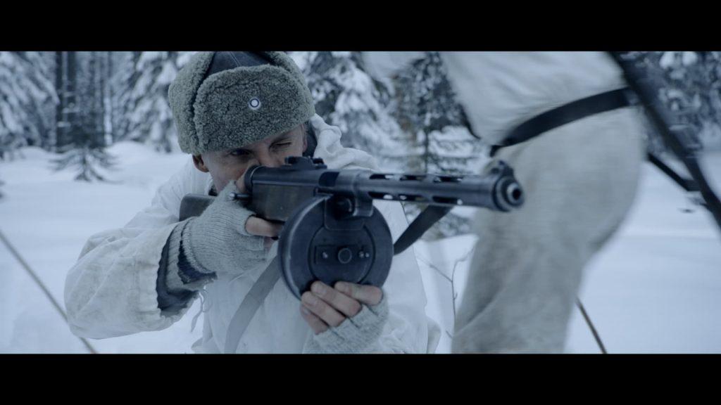 白迷彩 スミオ機関銃