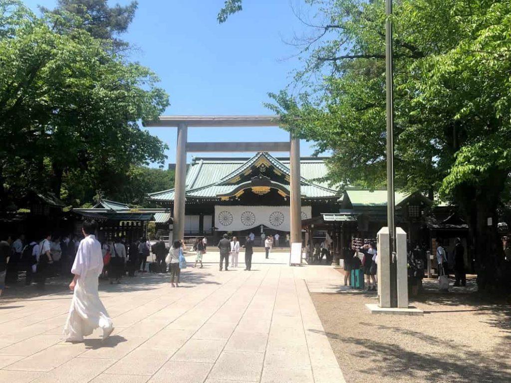 靖国神社の「遊就館」の見どころ。ゼロ戦の見学は無料!
