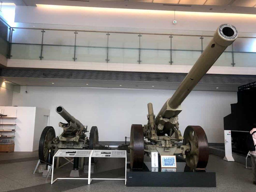 八十九式十五cmカノン砲・九十六式十五cm榴弾砲