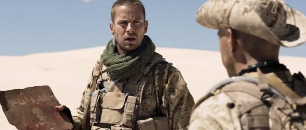 ALONE/アローン|砂漠の真ん中で地雷を踏んでしまったスナイパー|レビュー