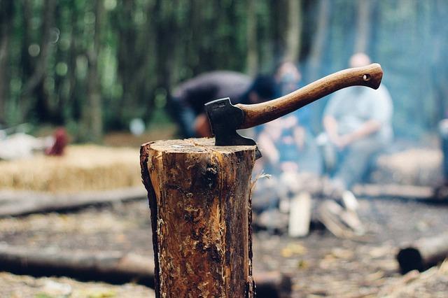 ゾンビ 手斧