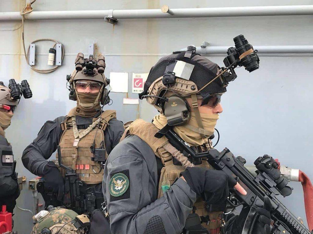 フランス海軍特殊部隊ユベル(Hubert)
