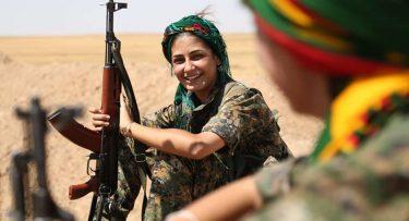 ISIS(ISIL)イスラム国を倒したクルドの女性兵士達