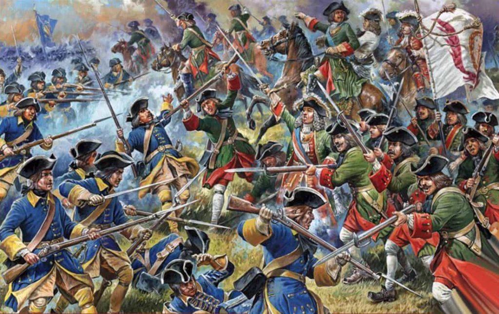 戦列歩兵|18世紀頃の戦争で兵隊が一列に並んで撃ち合うのはなぜ?