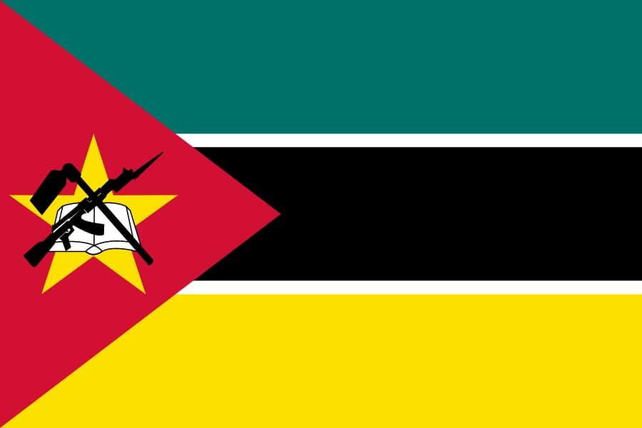 モザンビークの旗