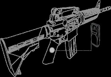 これから製造される銃にはAI搭載。弾数、弾速、点検時期も管理