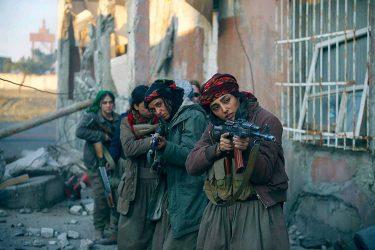 バハールの涙|イスラム国と戦った女戦士の感動作|戦争映画レビュー
