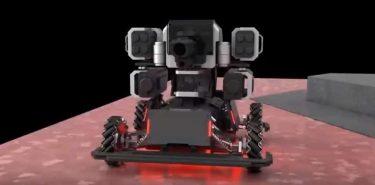 ロボット、ドローンによるガチなサバゲー「ROBOMASTER」