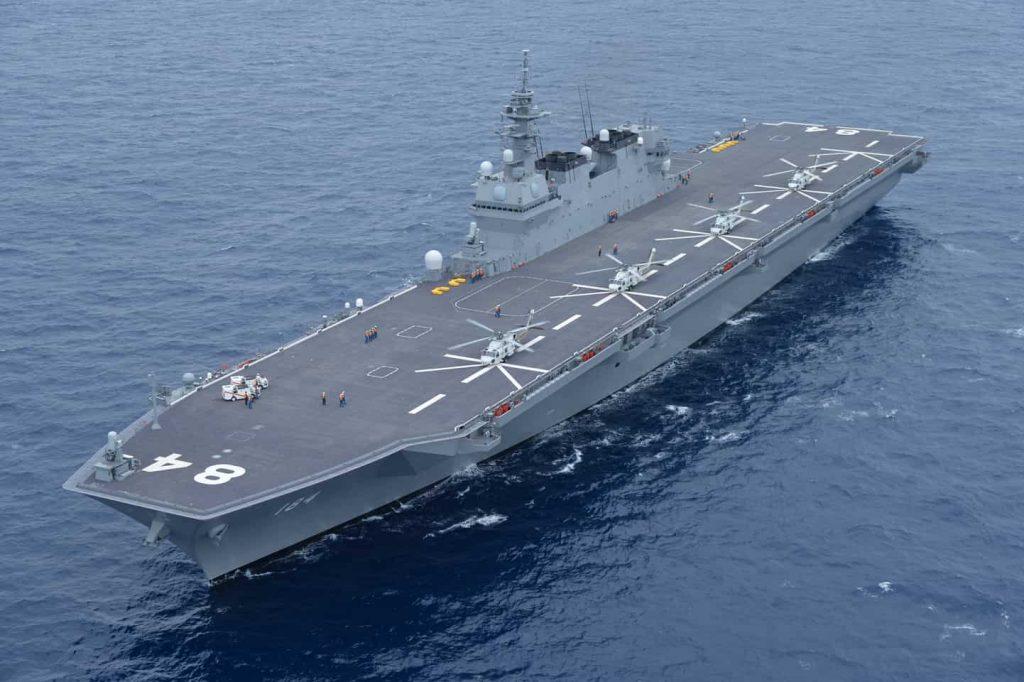 海上自衛隊最大の護衛艦「かが」に乗れるチャンス