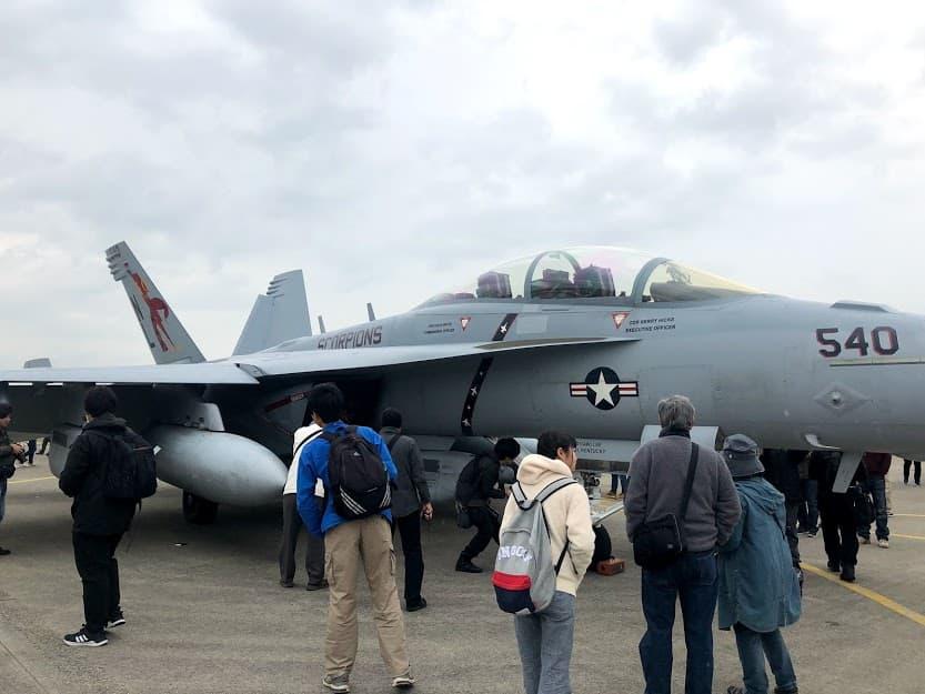戦闘機 F/A18スーパーホーネット