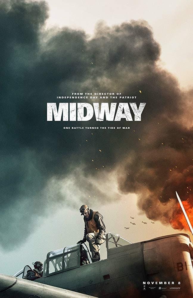 太平洋戦争の命運を分けた戦いを描いた映画『ミッドウェイ』予告編が公開