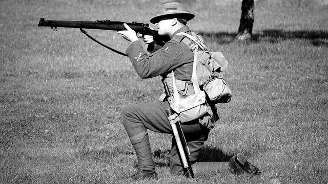 第一次世界大戦で使用された最高の銃器ランキングベスト5