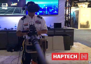 本物のM2ブローニング重機関銃を撃っているような軍用VR