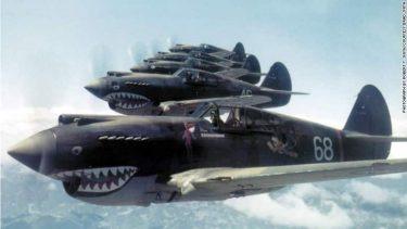 シャークマウス|戦闘機やA-10に描かれる鮫の絵の歴史とデザイン