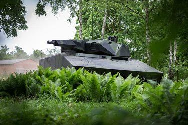 次世代歩兵戦闘車Lynx IFV(リンクス)はまるでSF映画のような車両
