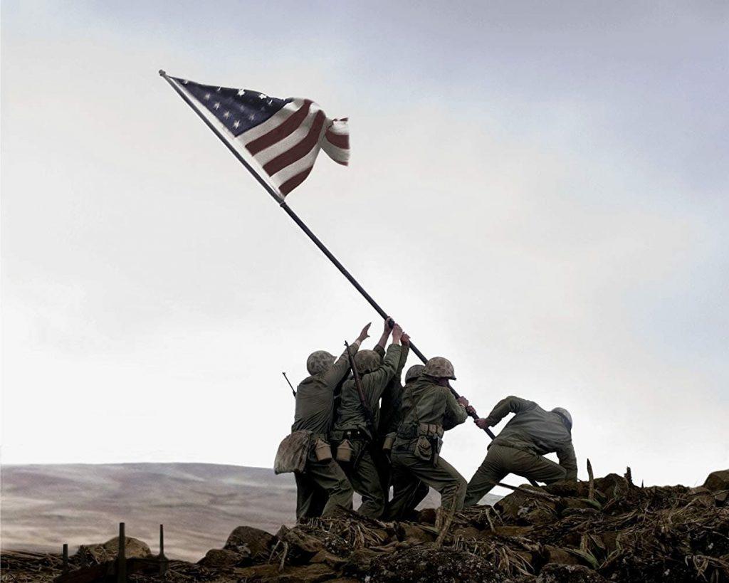 父親隊の星条旗