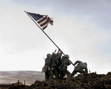 父親隊の星条旗|アメリカ視点の硫黄島の戦い|戦争映画レビュー
