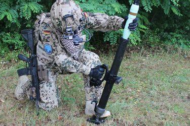 ラインメタルが特殊部隊向けの携帯用60㎜迫撃砲RSG60を発表