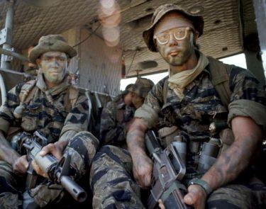 タイガーストライプ|ベトナム戦争で使われた迷彩とパターン