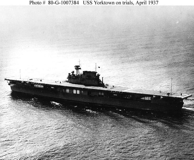 ヨークタウン(USS Yorktown, CV-5)