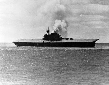 ミッドウェー海戦に参加した日米の空母7隻