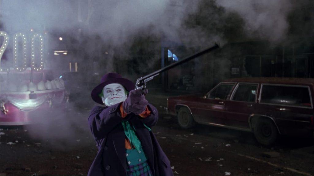 ジョーカーが使った超ロングリボルバー銃