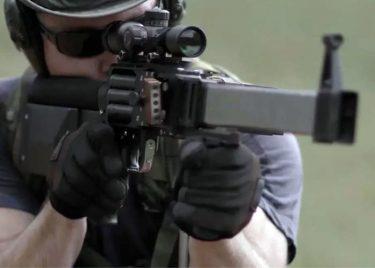 5発同時に撃てるライフル「L5 Ribbon Gun(リボンガン)」