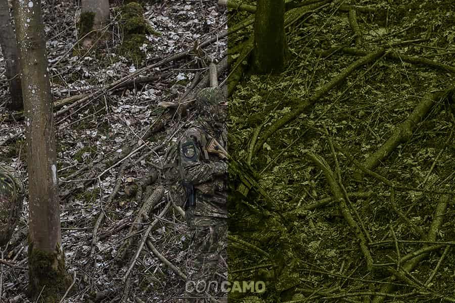 コンカモ(CONCAMO)|混乱迷彩といわれるドイツの新型迷彩