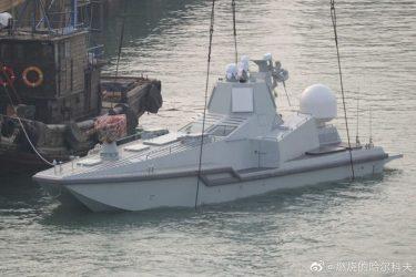 中国の世界最小イージス艦JARI-USV
