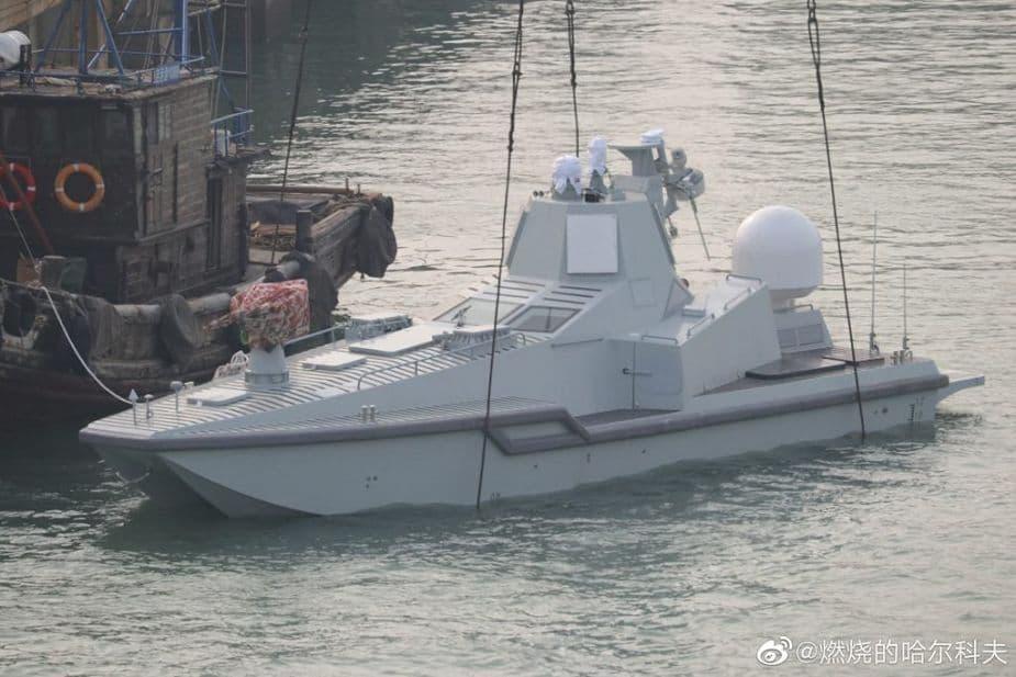 中国の世界最小イージス船JARI-USV