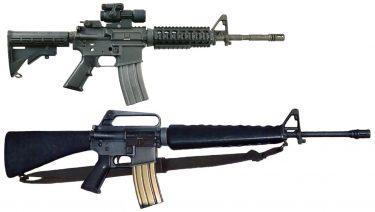 M16とM4の違いと比較