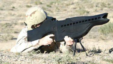 PHASR Rifle|対エイリアン銃のような形の対人レーザー銃
