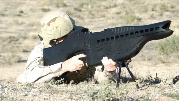 PHASR Rifle|対エイリアン銃のような対人レーザー銃