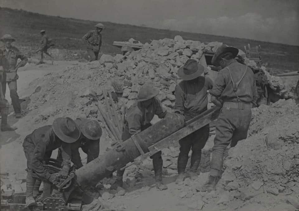 第一次大戦 迫撃砲