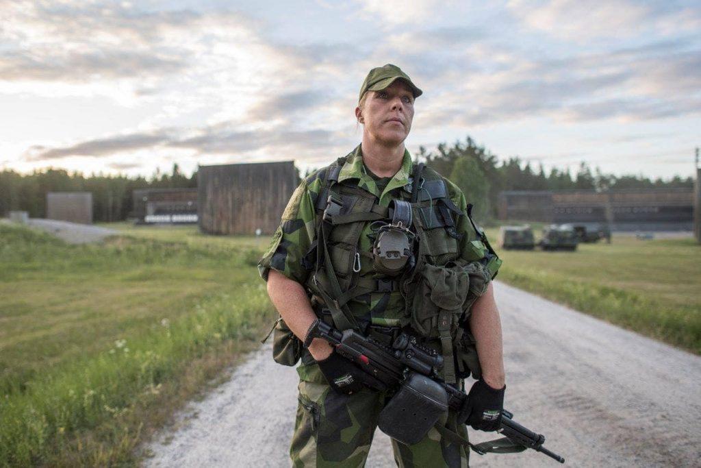 M90|スウェーデン軍の迷彩パターン