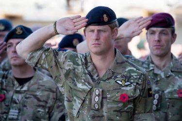 ヘンリー王子は元陸軍大尉!実戦にも参加した王子の軍歴