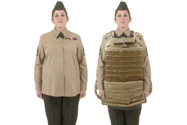 米海兵隊は妊婦と肥満向けのボディアーマーを導入する