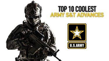 米陸軍が2019年に進歩した科学技術トップ10を発表