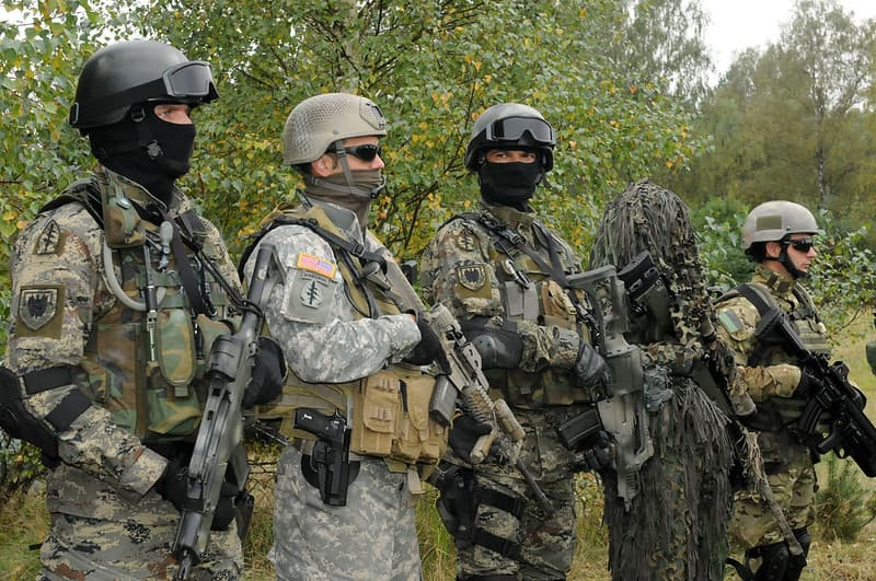 軍特殊部隊の特殊作戦の種類