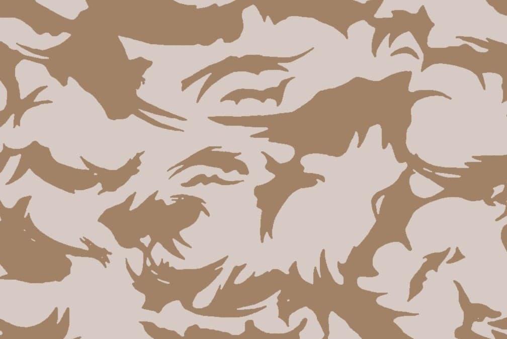 DPM迷彩|手書きから始まり世界中で採用された迷彩
