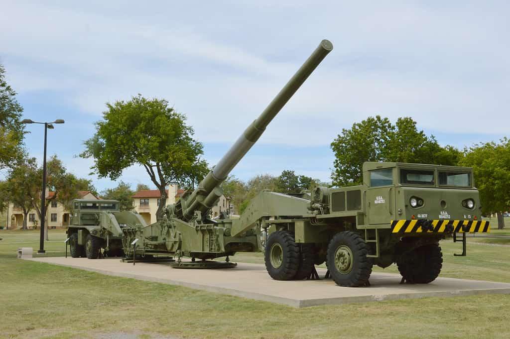 米軍が射程1600㎞を超える超長距離砲を開発中