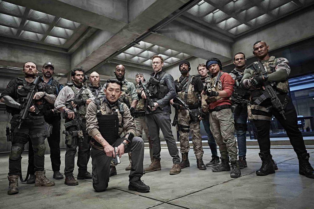 スコーピオンEVO3の実銃に触れる!サバゲーマー割!映画『PMCザ・バンカー』
