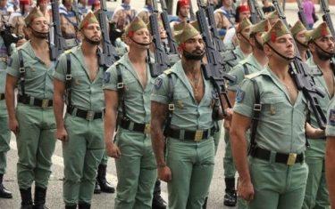 世界で最もセクシーな兵士といわれるスペイン外人部隊