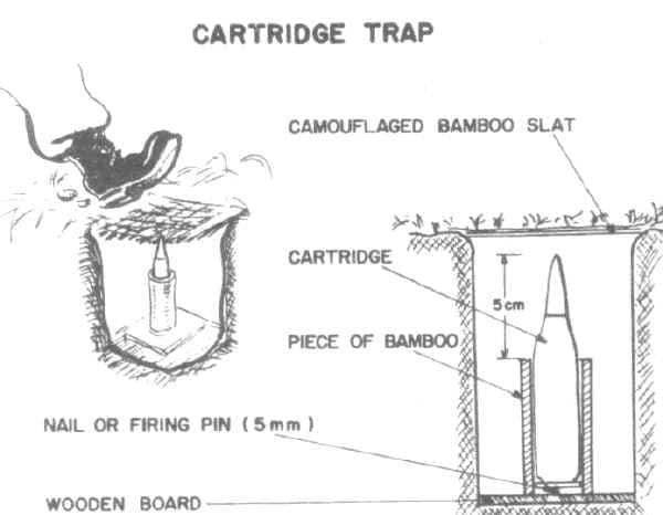 戦場で使われた恐ろしいブービートラップ