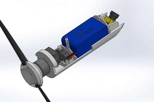 グレネードランチャーから発射できるドローンを米軍が設計