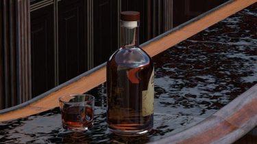 傷口にウィスキーやウォッカをかけるの見るけど、アルコール消毒できるの?