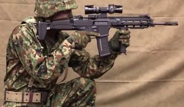 自衛隊の新小銃は20式5.56mm自動小銃(HOWA5.56)、新拳銃はSFP9に決定!理由、価格は