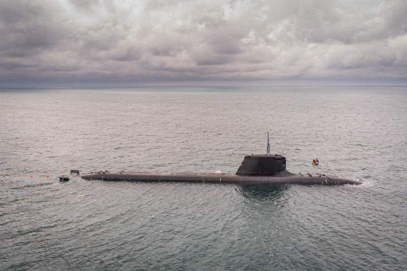 仏海軍の次期攻撃型原潜シュフラン級原子力潜水艦