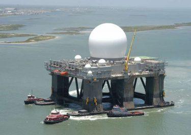 探知距離4000km!世界最大のレーダーSBX